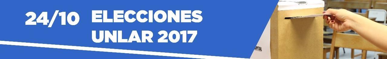 Elecciones UNLaR 2017